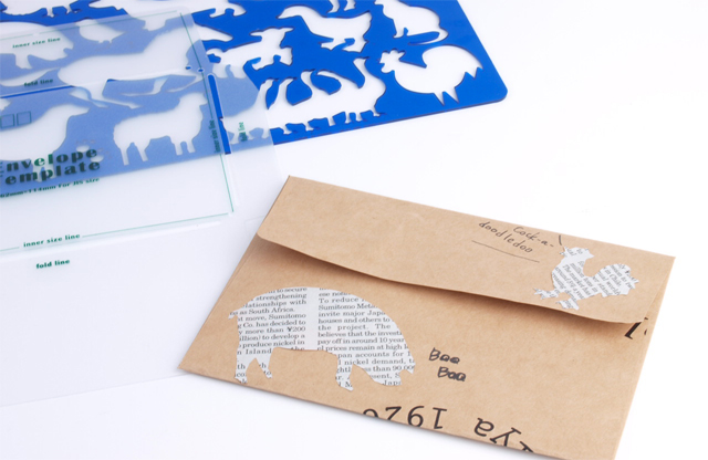 手作り封筒