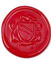 海外直輸入品 イタリア製 シーリングスタンプ 紋章